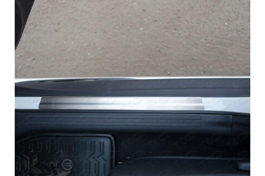 Накладки на пороги (лист шлифованный) (комплект 2 шт)