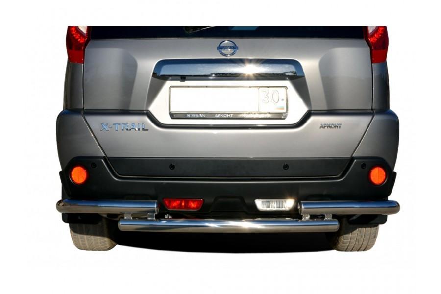 Защита заднего бампера угловая большая d60