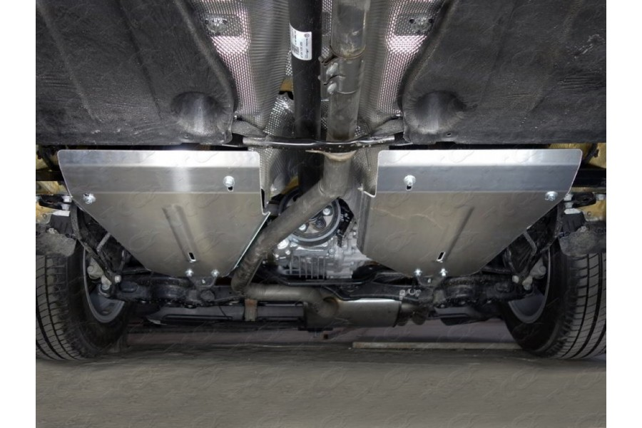 Защита бака (алюминий) 4 мм (комплект 2шт)
