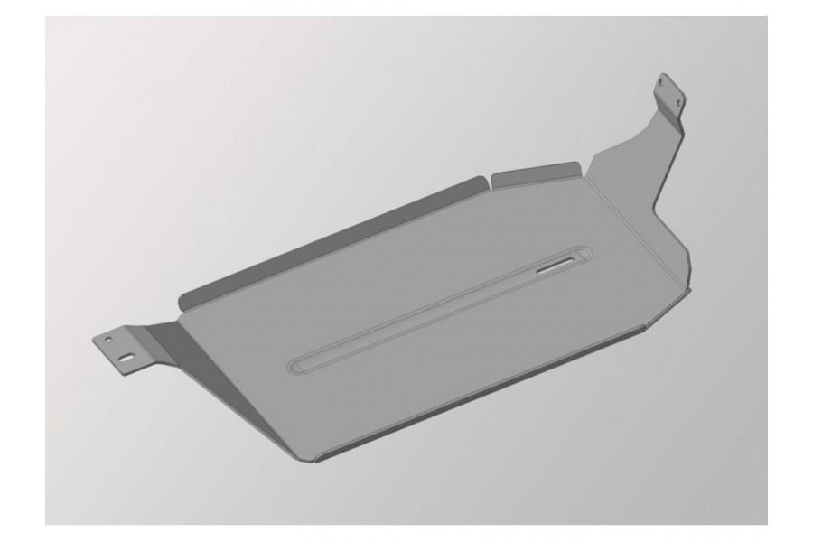 Защита бака левая (алюминий) 4 мм