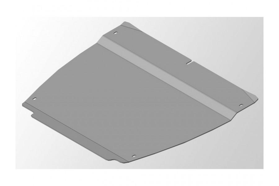 Защиты комплект (алюминий) 4мм (картер и кпп, бак левая, бак правая)