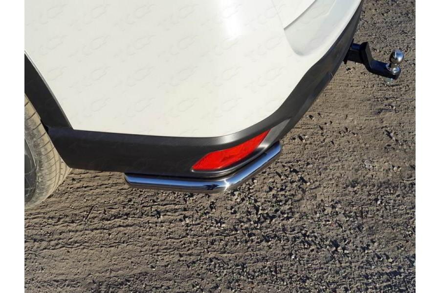 Защита задняя (уголки короткие) 42,4 мм