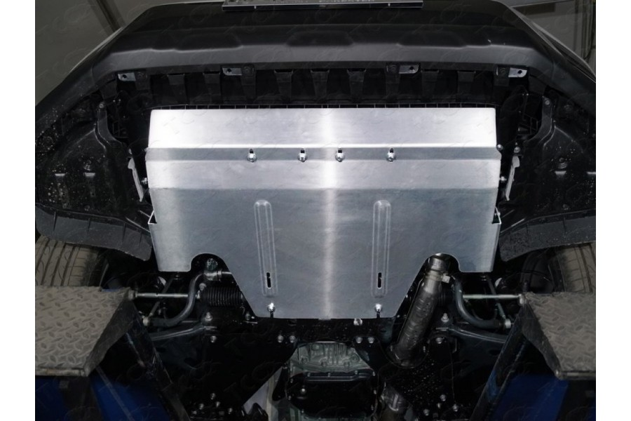 Защита картера большая (алюминий) 4 мм