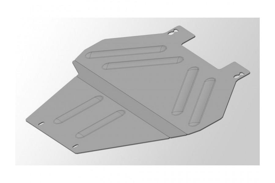 Защиты комплект (алюминий) 4мм (картер, кпп, задний дифференциал)