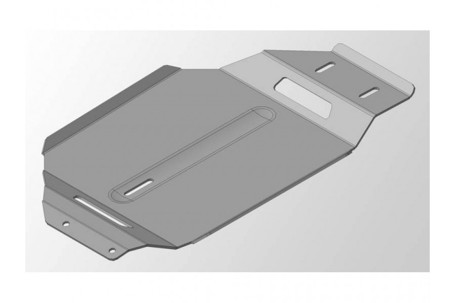 Защита КПП (алюминий) 4 мм (не устанавливается без ZKTCC00023)