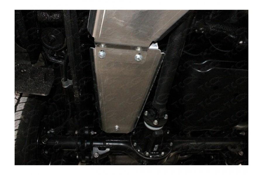 Защита адсорбера (алюминий) 4 мм