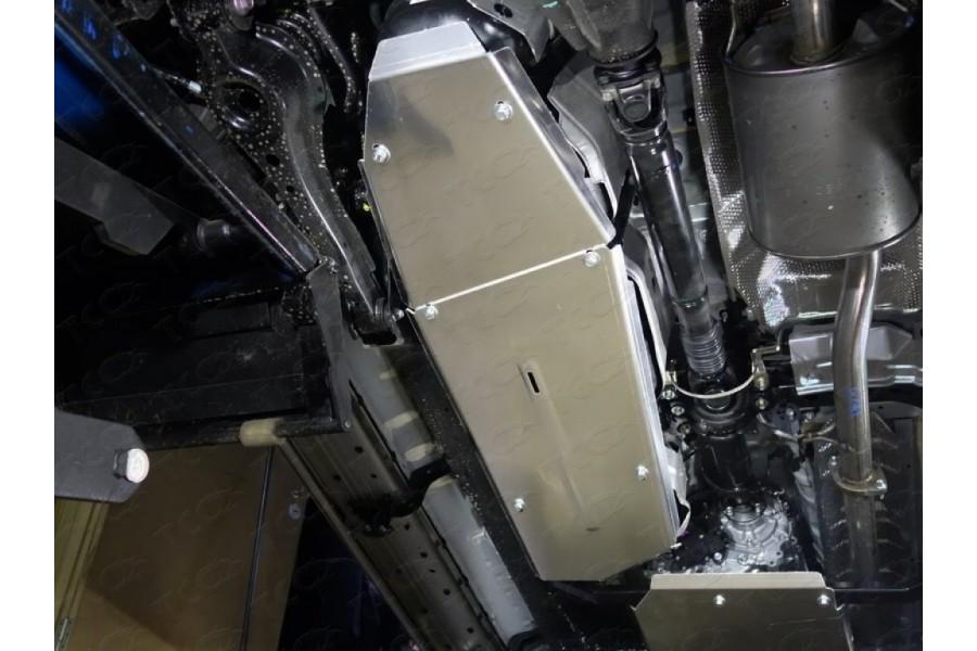 Защита бака (алюминий) 4 мм(комплект 2шт)