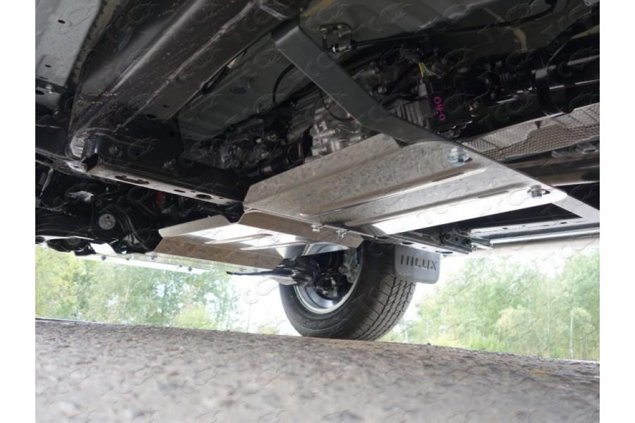 Защита КПП (алюминий) 4мм