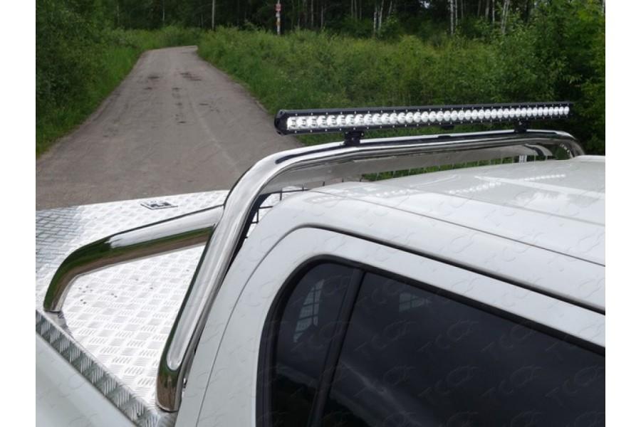 Защита кузова 75х42 мм со светодиодной фарой (только для кузова)