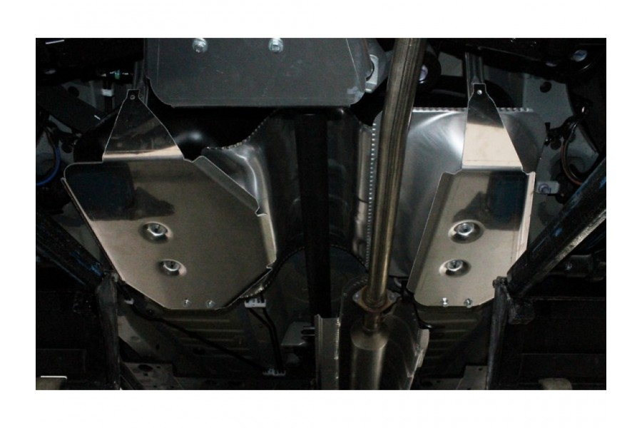 Защита бака (алюминий) 4 мм (комплект 2 шт)