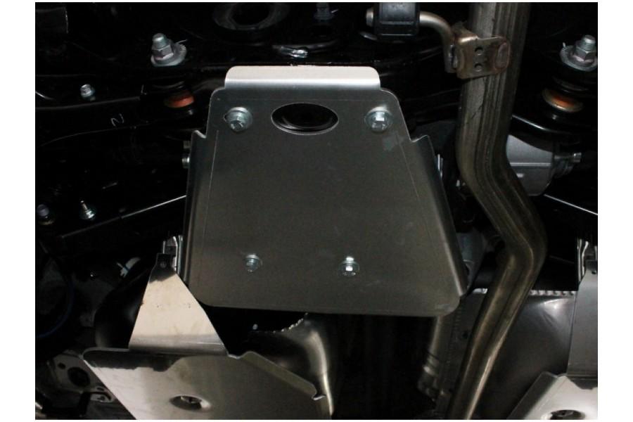 Защита заднего дифференциала (алюминий) 4мм