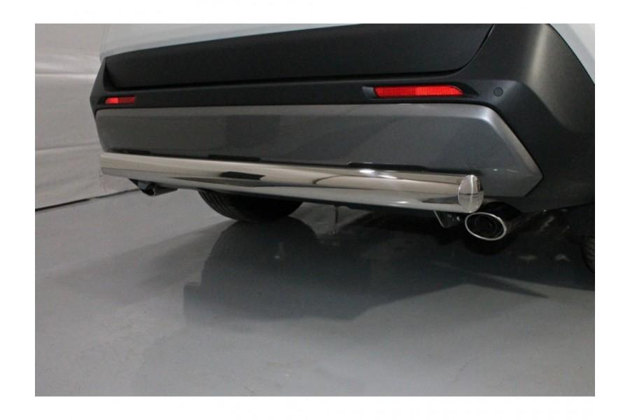 Защита задняя (овальная) 75х42 мм