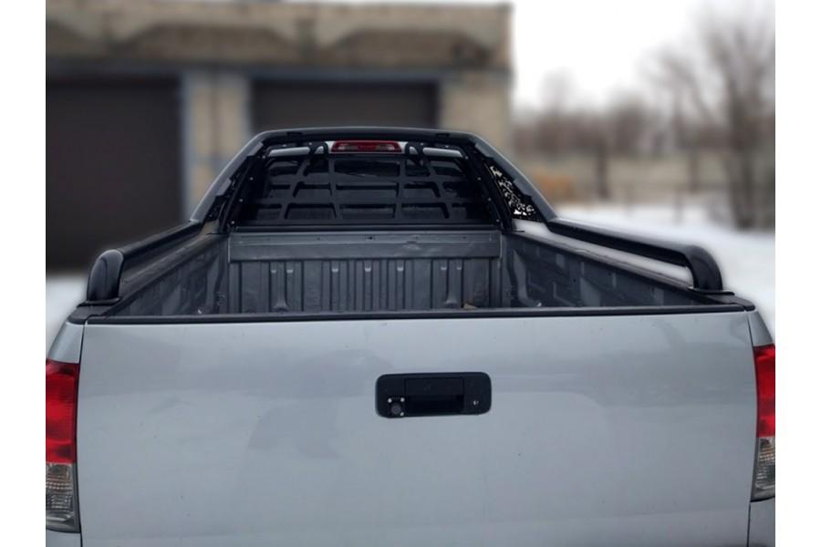 Защита стекла для дуги в кузов, сталь 3мм, окрашенная порошковой краской, цвет-черный