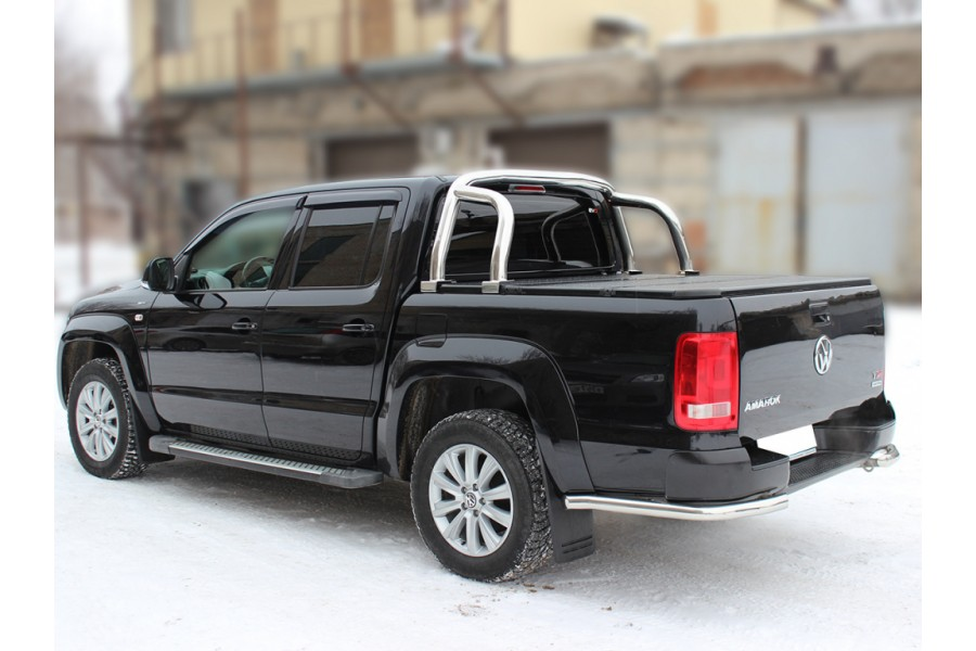 Дуга в кузов d-76 (возможна установка с 3-х секционной крышкой кузова)