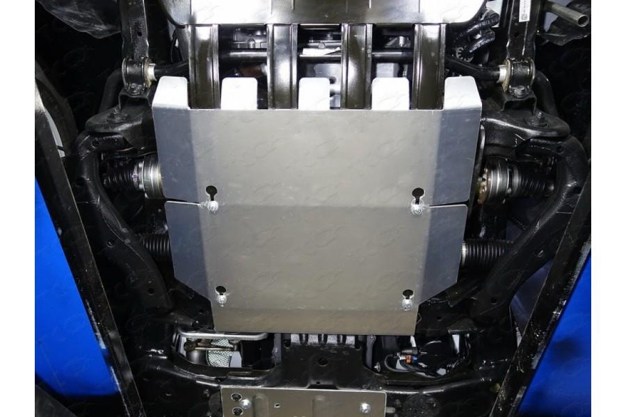Защита картера (алюминий) 4 мм (двг. 2.0)