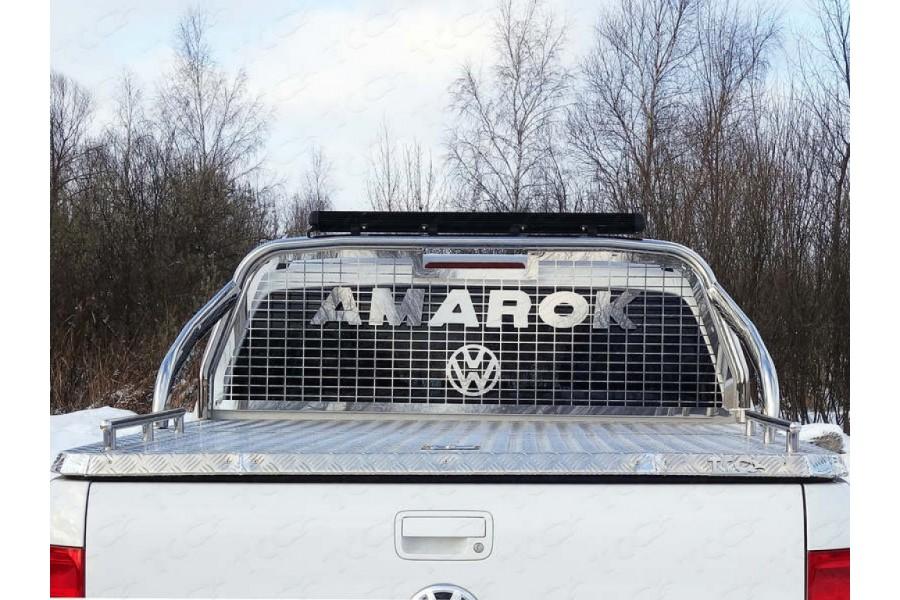Защита кузова и заднего стекла со светодиодной фарой 75х42 мм (на крышку)