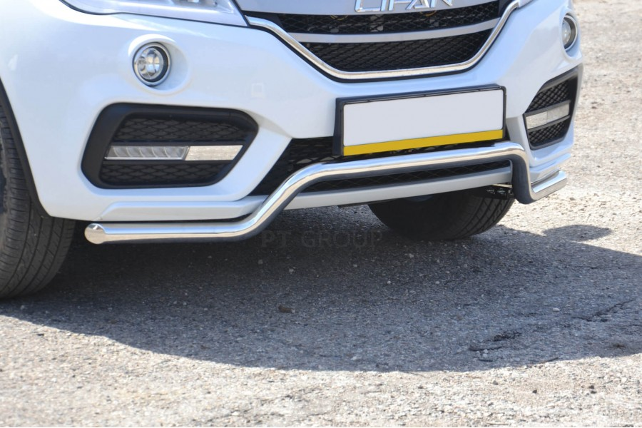 Защита переднего бампера Ø51мм «Волна» (НПС) LIFAN X60 2017-