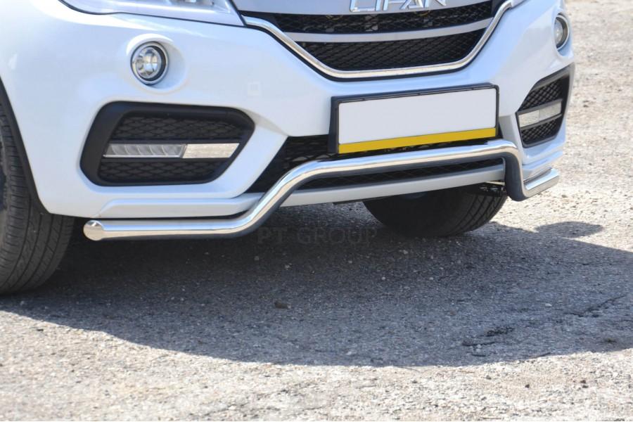 Защита переднего бампера ?51мм «Волна» (НПС) LIFAN X60 2017-