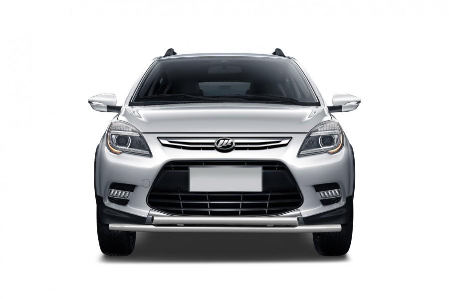 Защита переднего бампера двойная ?51/51мм (НПС) LIFAN X50 2015-