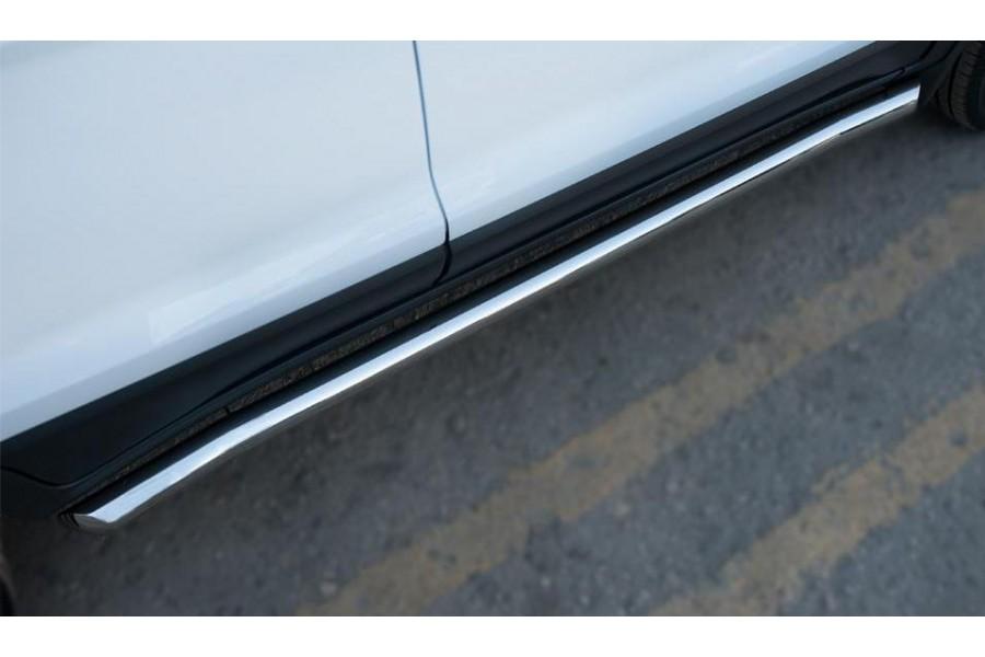 Ford Ecosport 2014- Пороги труба d63 (вариант 1)