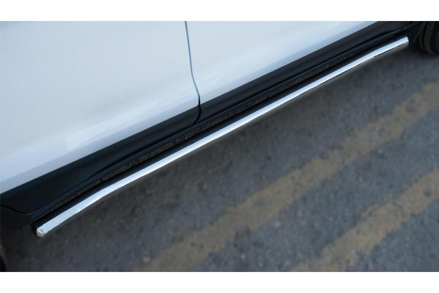 Ford Ecosport 2014- Пороги труба d63 (вариант 3)