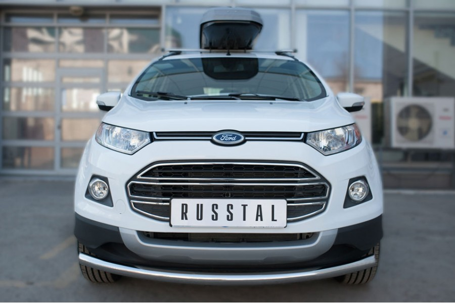 Ford Ecosport 2014- Защита переднего бампера d63 (дуга)