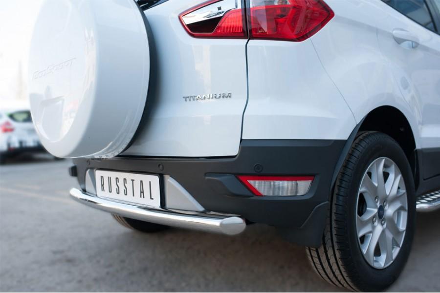 Ford Ecosport 2014- Защита заднего бампера d63 (дуга)
