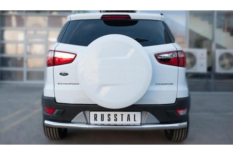 Ford Ecosport 2014- Защита заднего бампера d63 (секции)