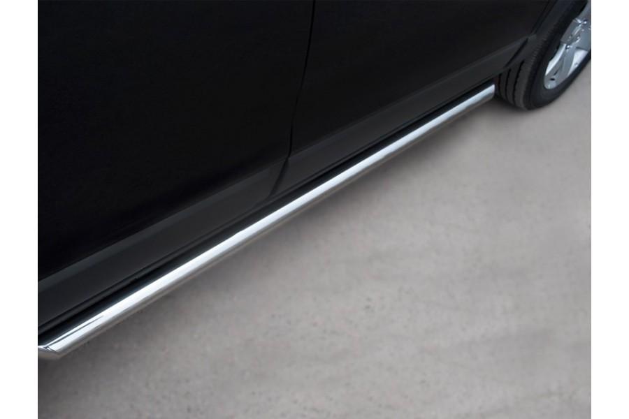 Honda CR-V 2010-2012 Пороги труба d63 (вариант 2) HNT-0002282