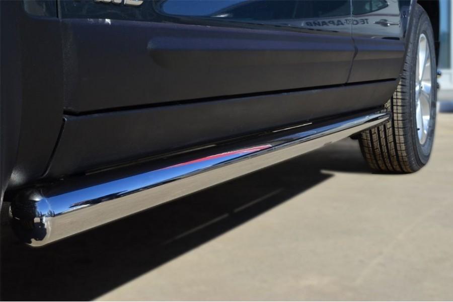 KIA Sorento 2012- Пороги труба d63 (вариант 3) KIT-0012683