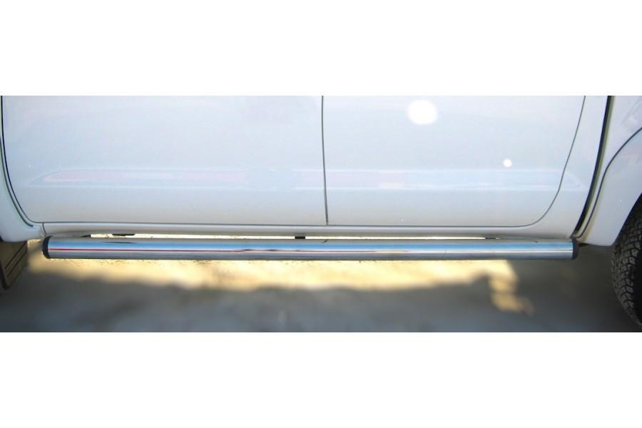 Mitsubishi L200 2010-2013 Пороги труба d76 (вариант 2) MLT-0011252