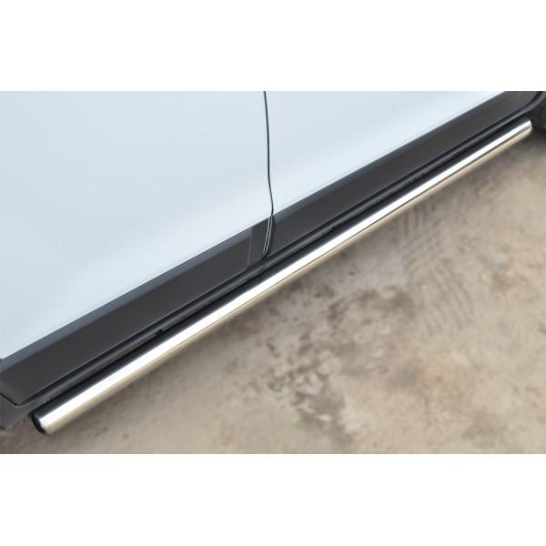 CHEVROLET NIVA 2002-2009 Пороги труба d76 (вариант 3) NCT-0001843