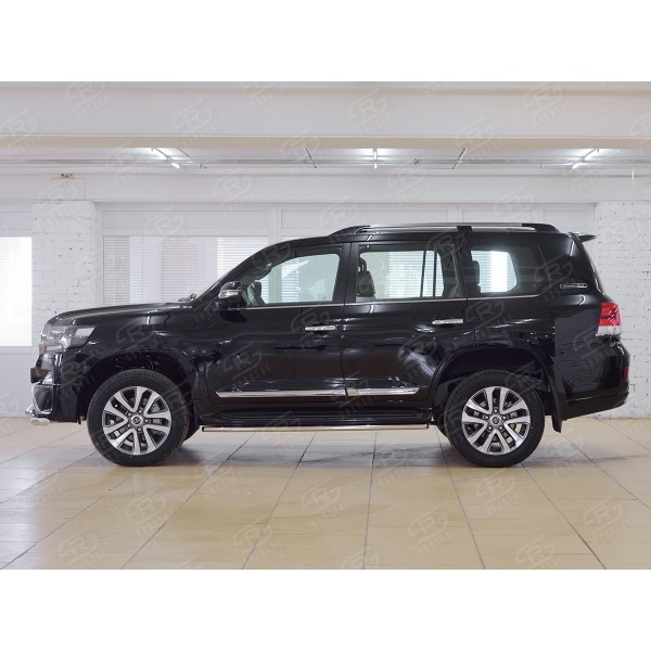 TOYOTA LAND CRUISER 200 2015 EXECUTIVE Защита порогов d42 TLCT-002560