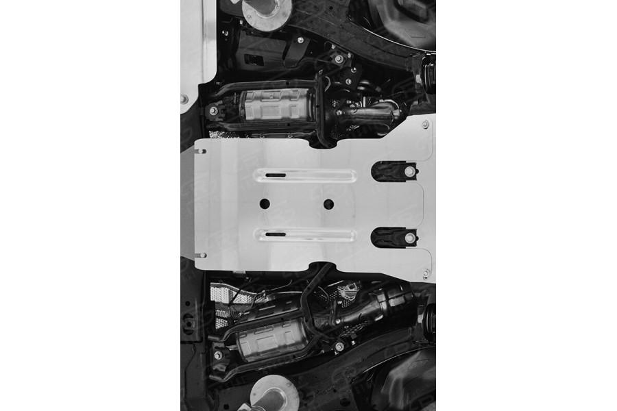 LEXUS LX450d-LX570 2015 (кроме F-Sport) Защита КПП ZKLLX15-003