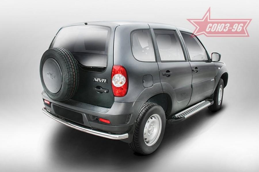 Защита задняя d60,Chevrolet Niva 2014-