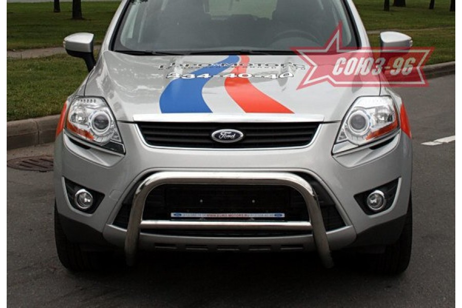 """Решётка передняя мини d 60 низкая """"Ford Kuga"""" 2008-"""
