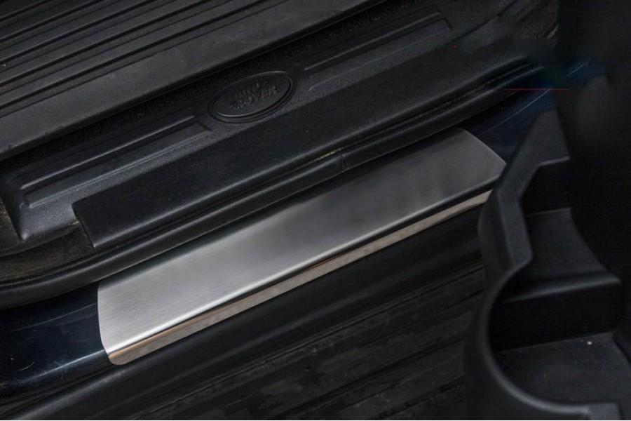 "Накладка на внутренние пороги с логотипом ""Союз-96"" (компл. 4шт.),Land Rover Discovery IV"