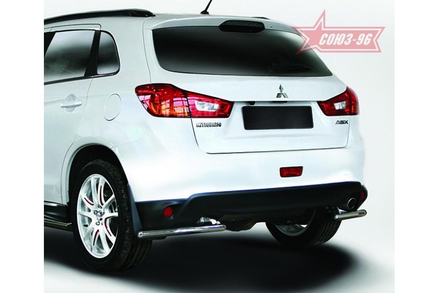 Защита задняя уголки d42,Mitsubishi ASX 2013-