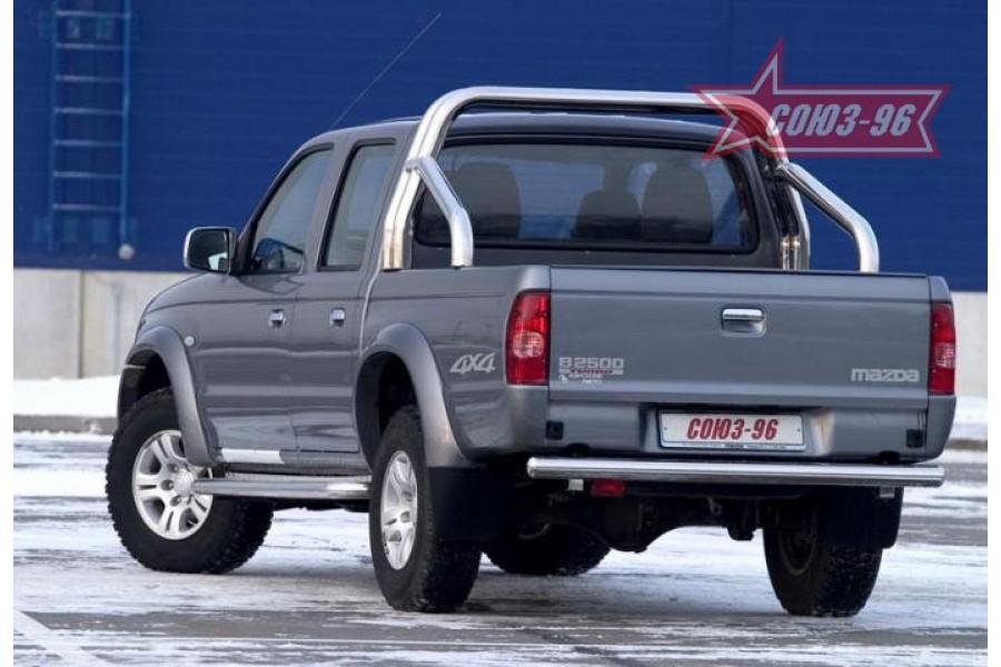 "Защита задняя d 76 (""Mazda B-series"", ""FORD Ranger"")"