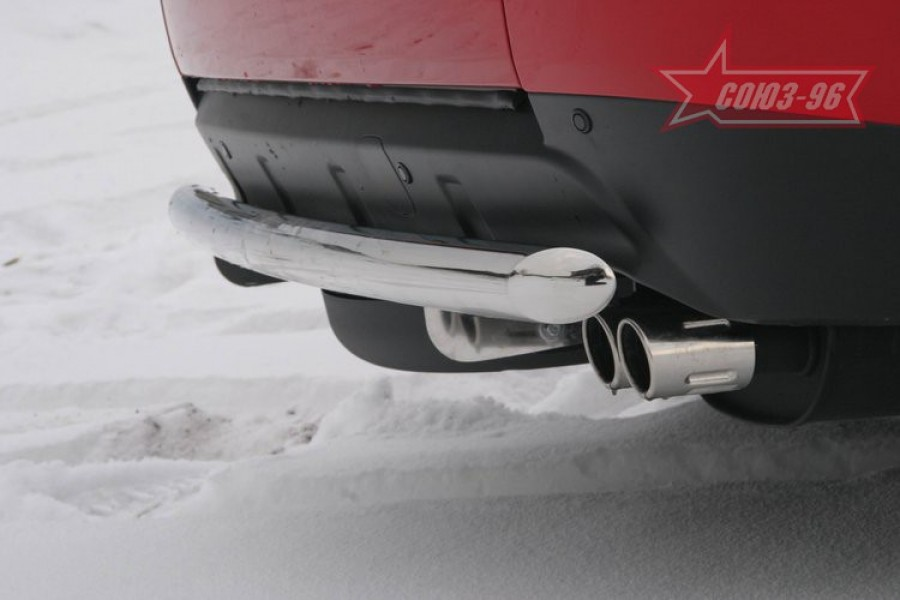 "Защита задняя 60 прямая ""Mitsubishi Outlander XL"""