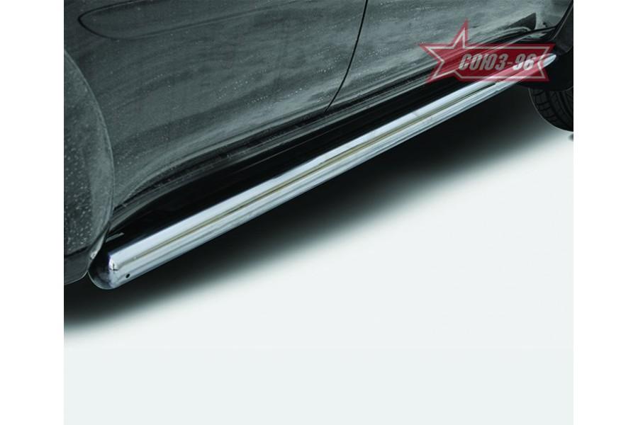 "Защита задняя d 60 ""уголки"" одинарные ""Mitsubishi Pajero Sport"" 2008-"
