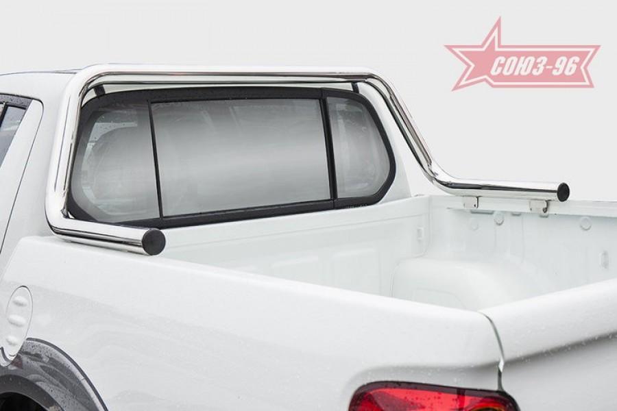 Защита задняя рама в кузов шалаш d60,Mitsubishi L200 2014-