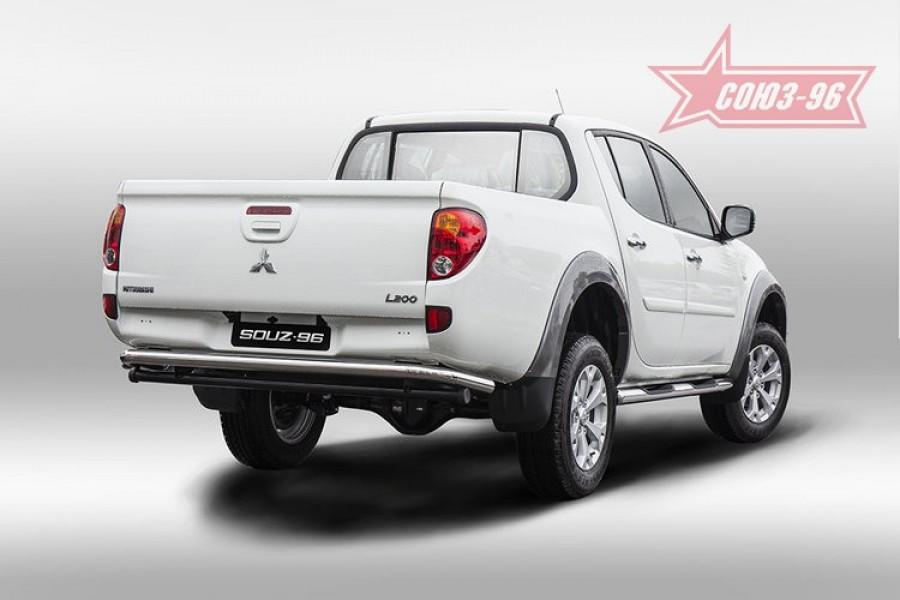 Защита задняя d60,Mitsubishi L200 2014-