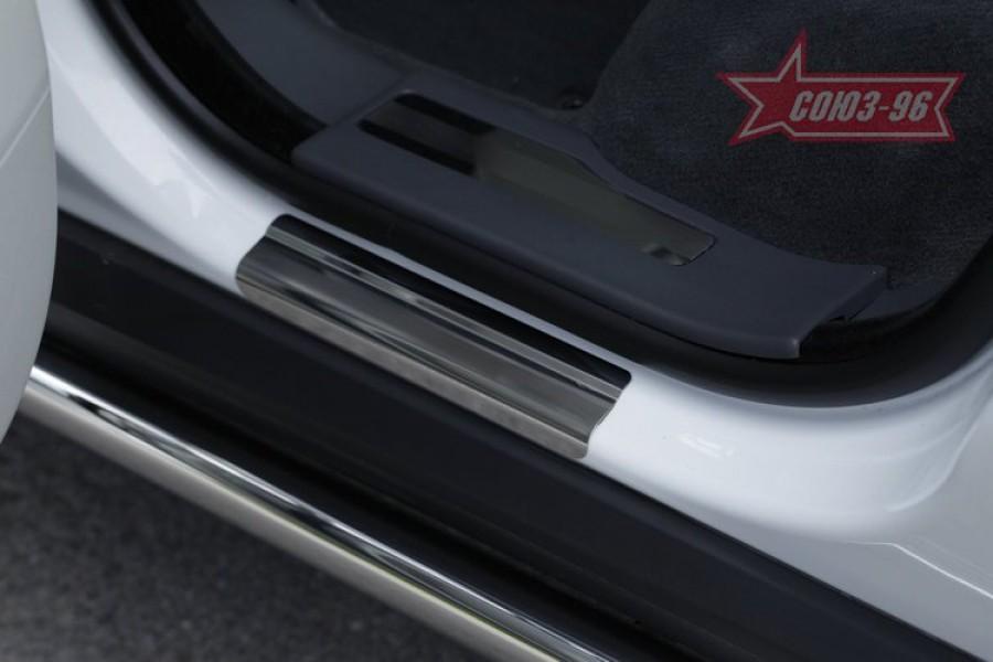 Накладка на внутренние пороги без логотипа (компл. 4шт.),Range Rover Evoque 2012-