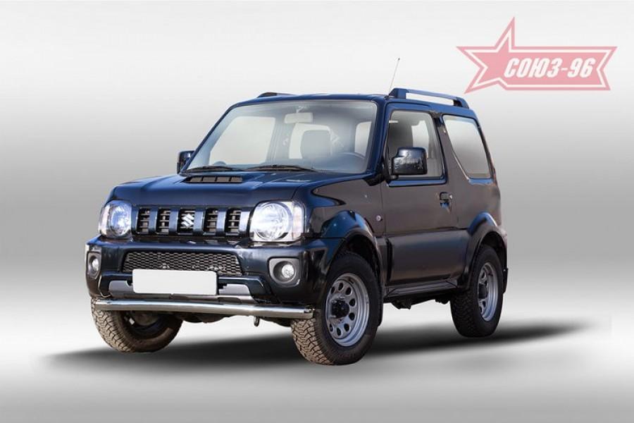 Защита переднего бампера труба d60,Suzuki Jimny 2013-