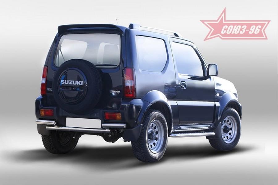 Защита задняя d60,Suzuki Jimny 2013-