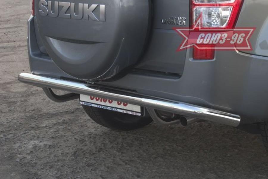 "Защита задняя ""волна"" d 60 ""Suzuki Grand Vitara"" 2006-2008 (3-х дверная)"