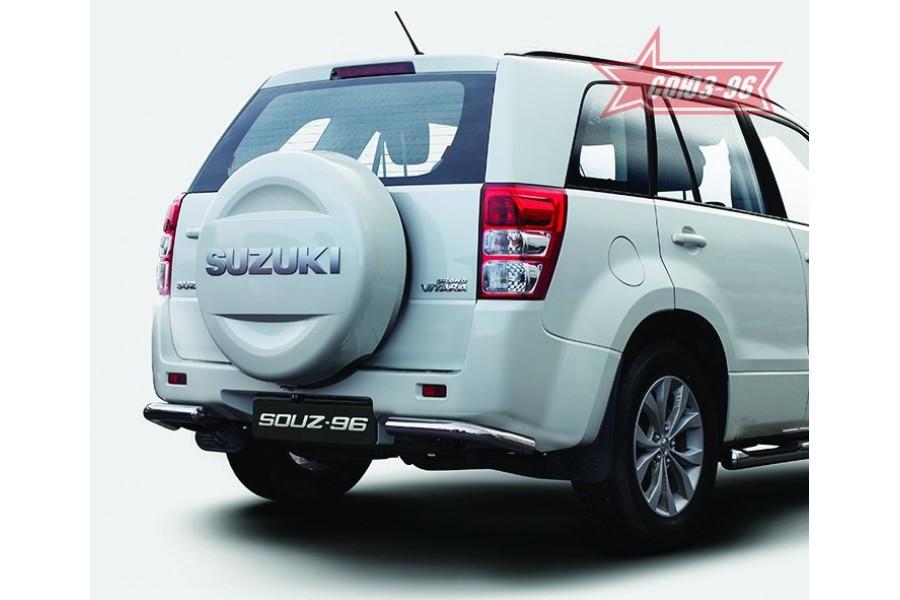 "Защита задняя ""уголки"" d 60 ""Suzuki Grand Vitara"" 2008- (5-ти дверная)"