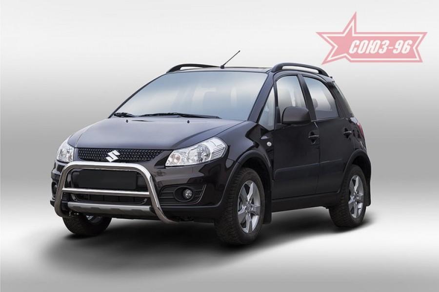 Решетка передняя мини низкая d60,Suzuki SX4 2013-