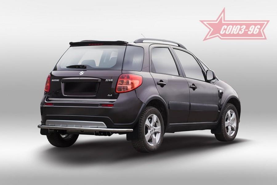 Защита задняя d42,Suzuki SX4 2013-